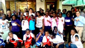 KIF Kenya: girls empowerment with U.S. Embassy Kenya